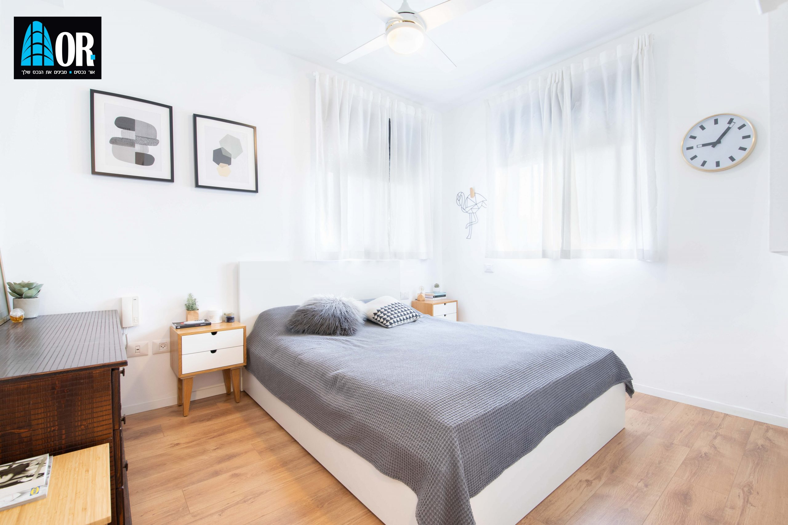חדר שינה דירה 4 חדרים בשכונת צמרות
