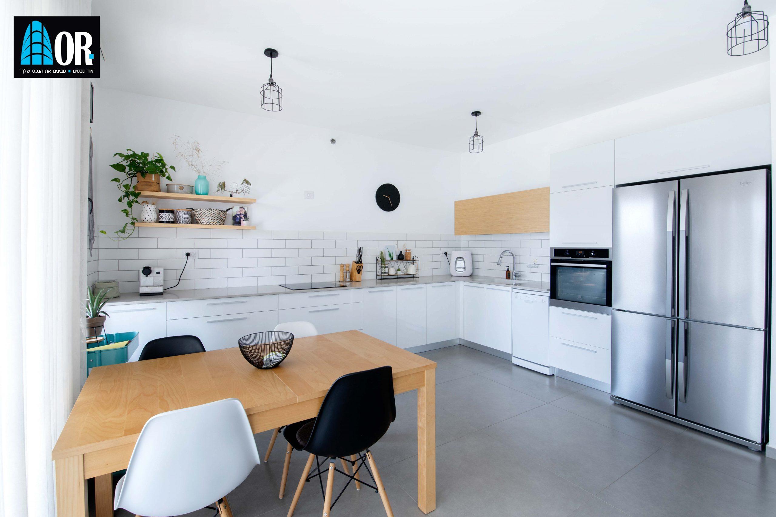 מטבח דירה 4 חדרים בשכונת צמרות