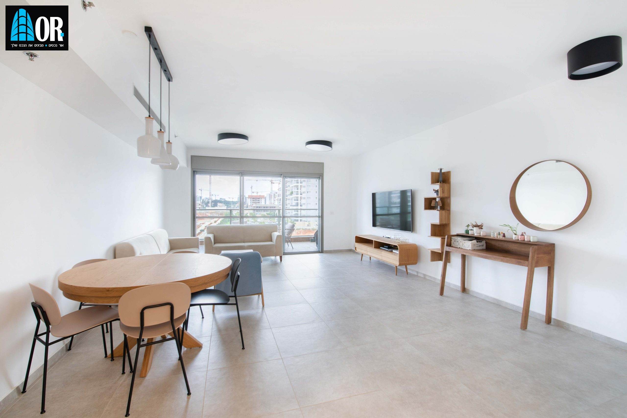 סלון+ פינת אוכל 4 חדרים, שכונה צמרות