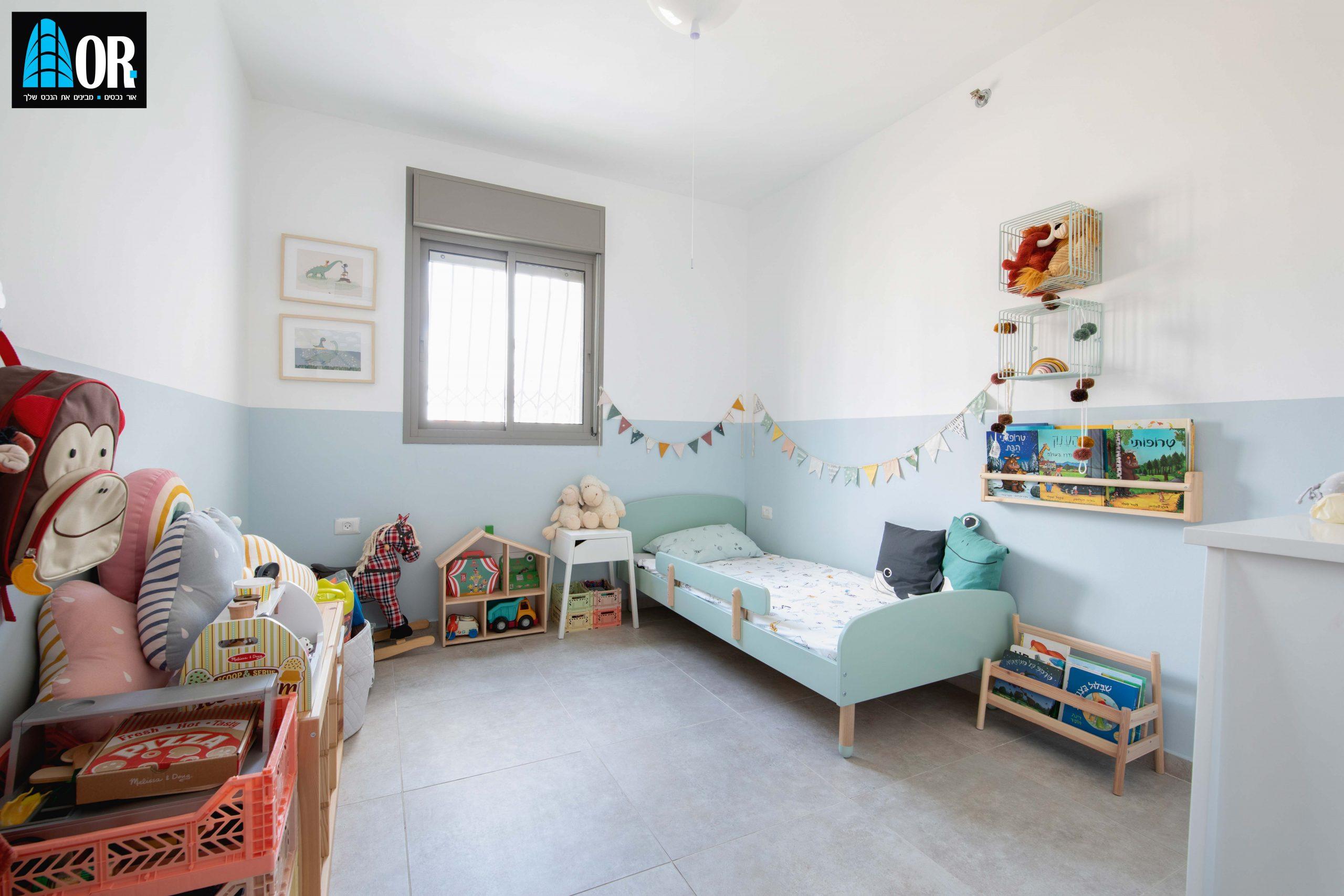 חדר ילדים 4 חדרים, שכונה צמרות