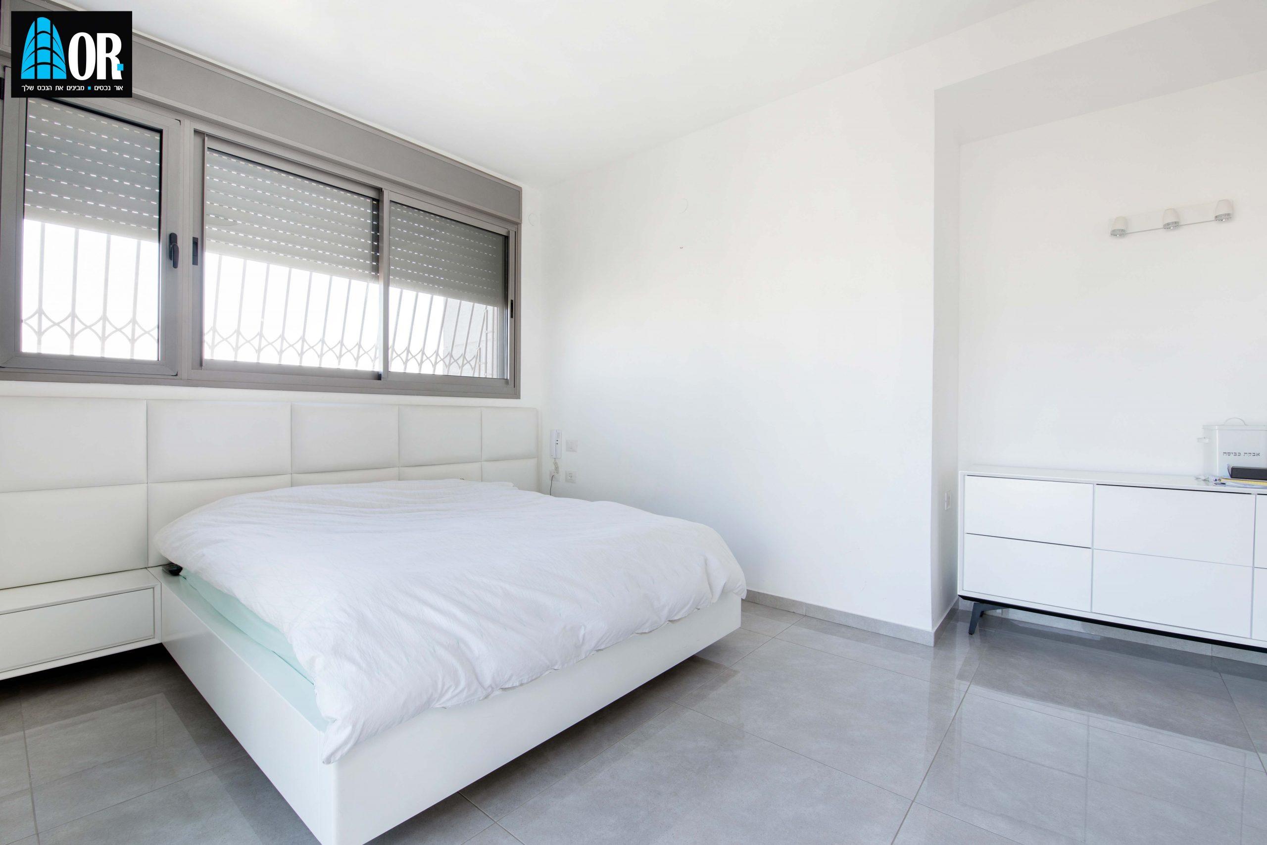חדר שינה פנטהאוז 6 חדרים שכונה צמרות