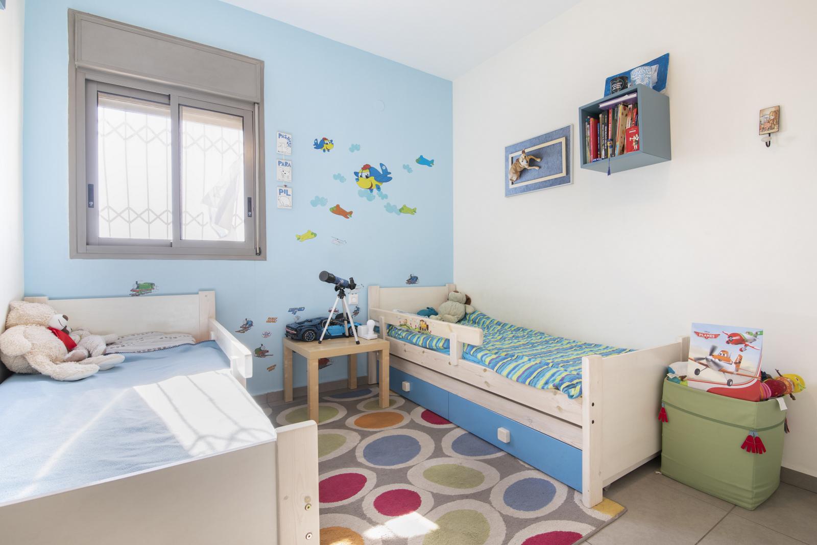 חדר ילדים פנטהאוז 5 חדרים שכונה פארק המושבה