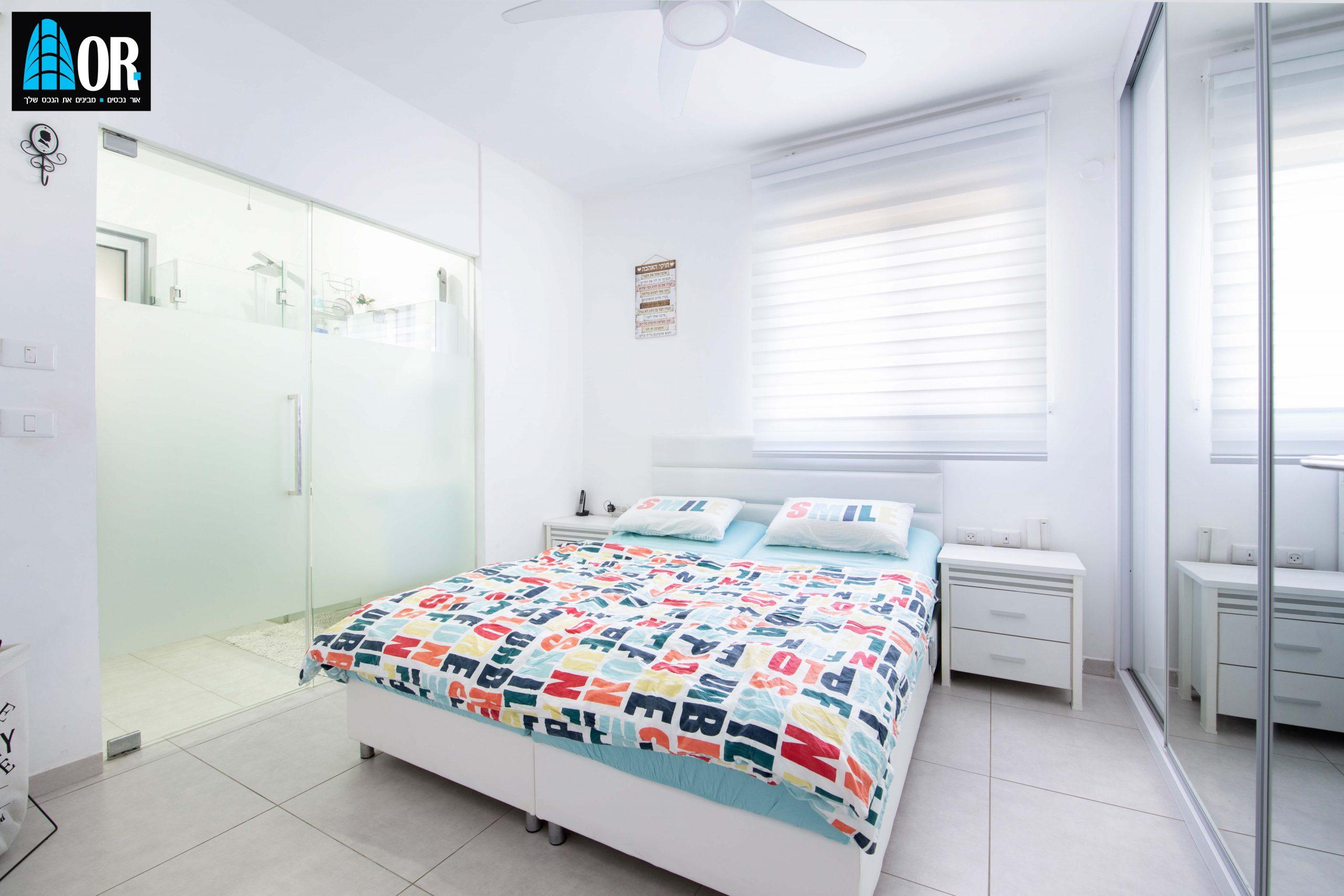 חדר שינה דירה 5 חדרים שכונה פארק המושבה