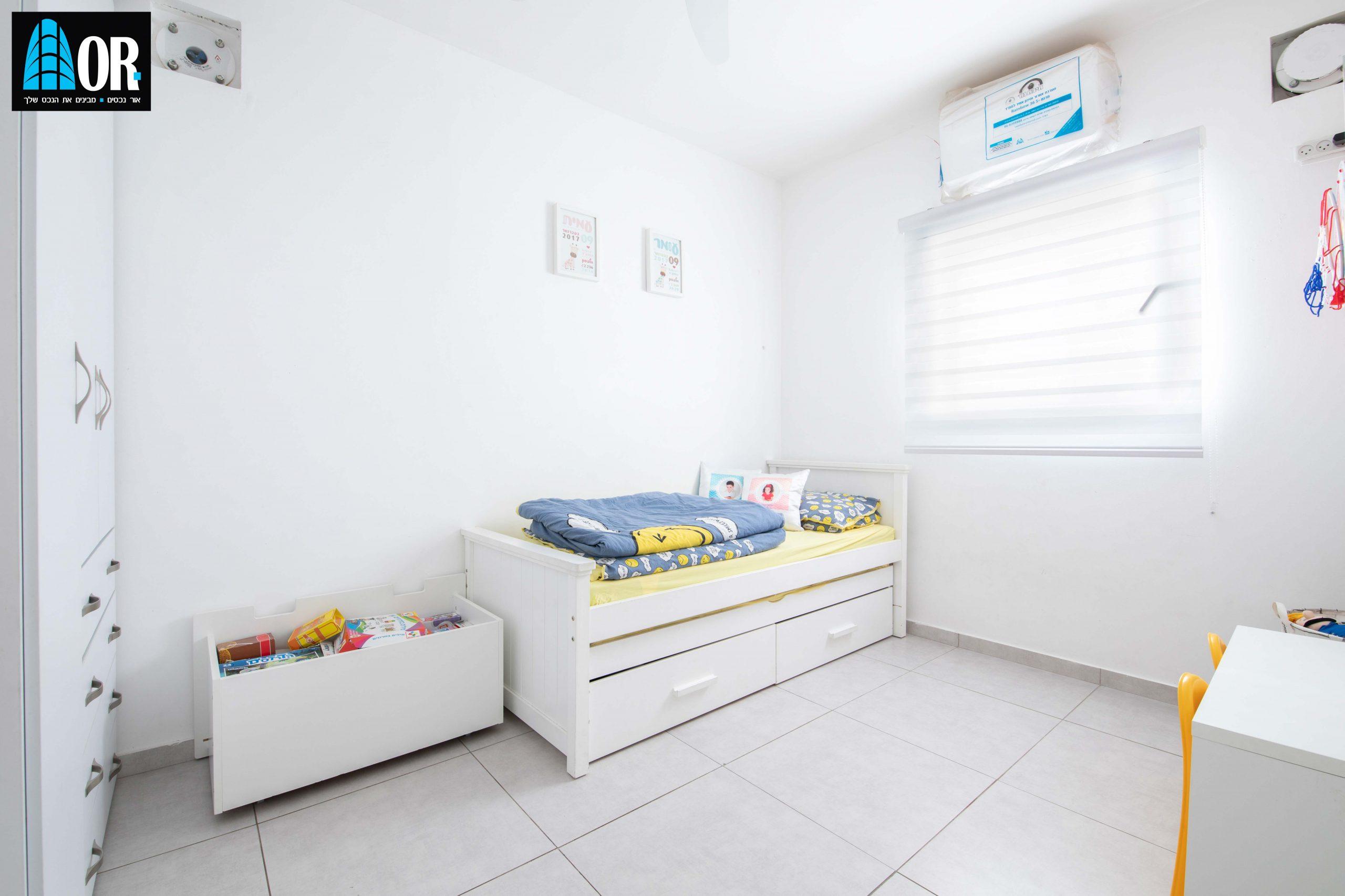 חדר ילדים דירה 5 חדרים שכונה פארק המושבה
