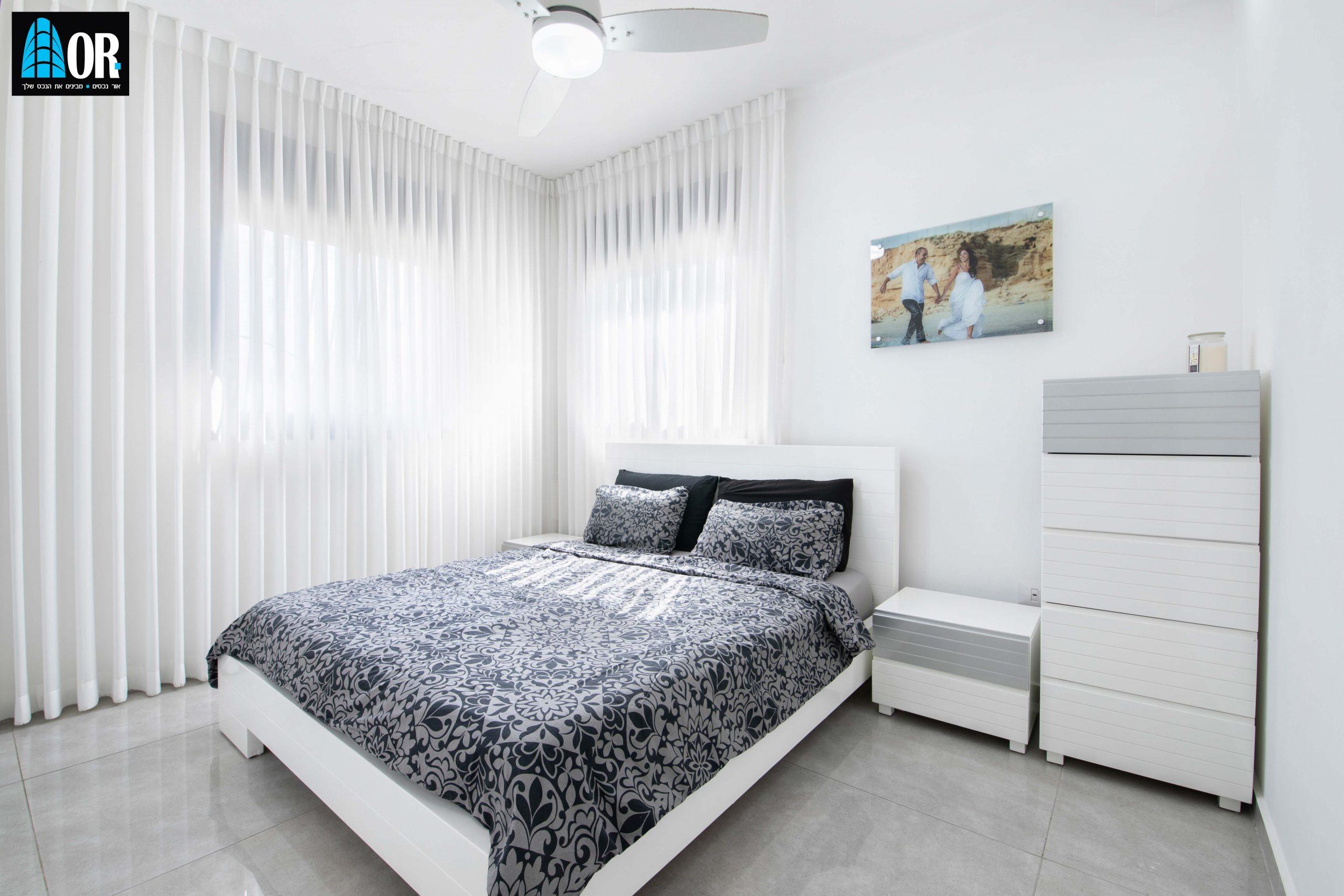 חדר הורים דירה 5 חדרים שכונה צמרות