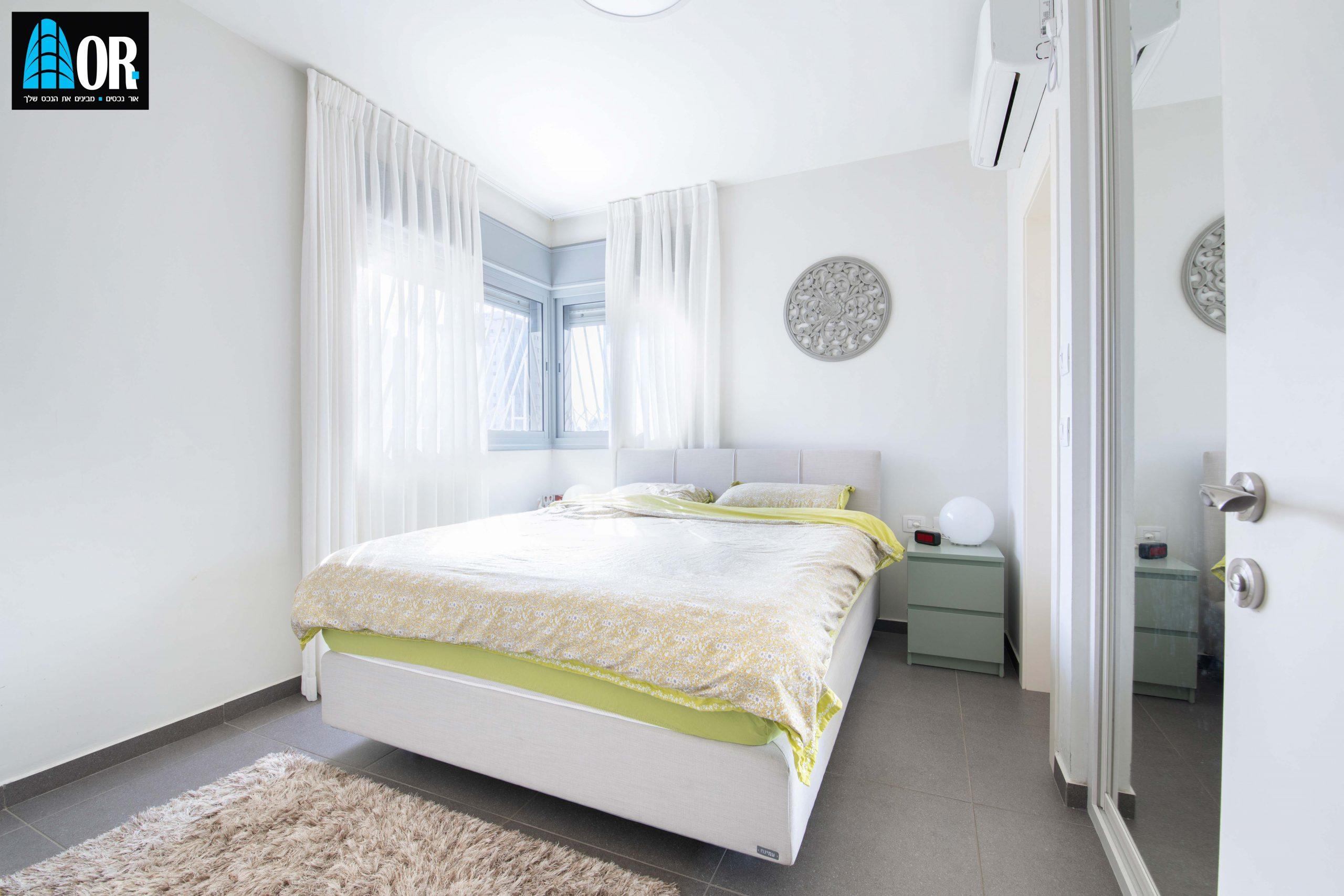 חדר שינה דירה 5 חדרים, שכונה צמרות