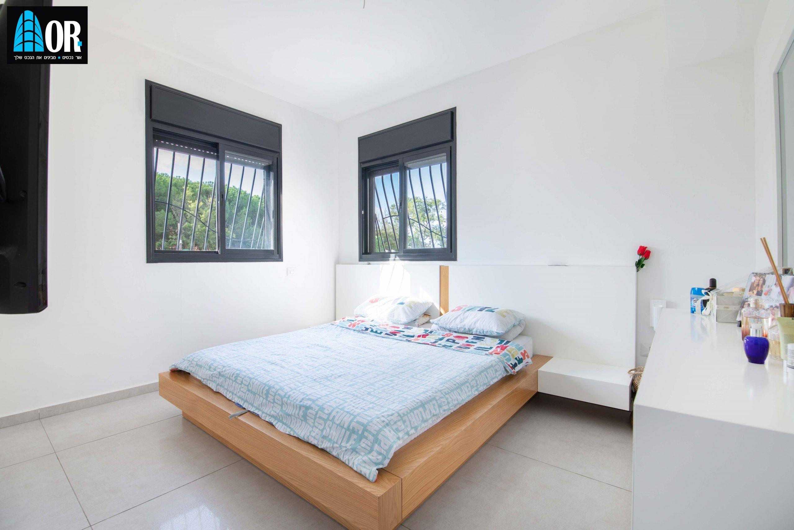חדר הורים דירה 4 חדרים שכונה צמרות