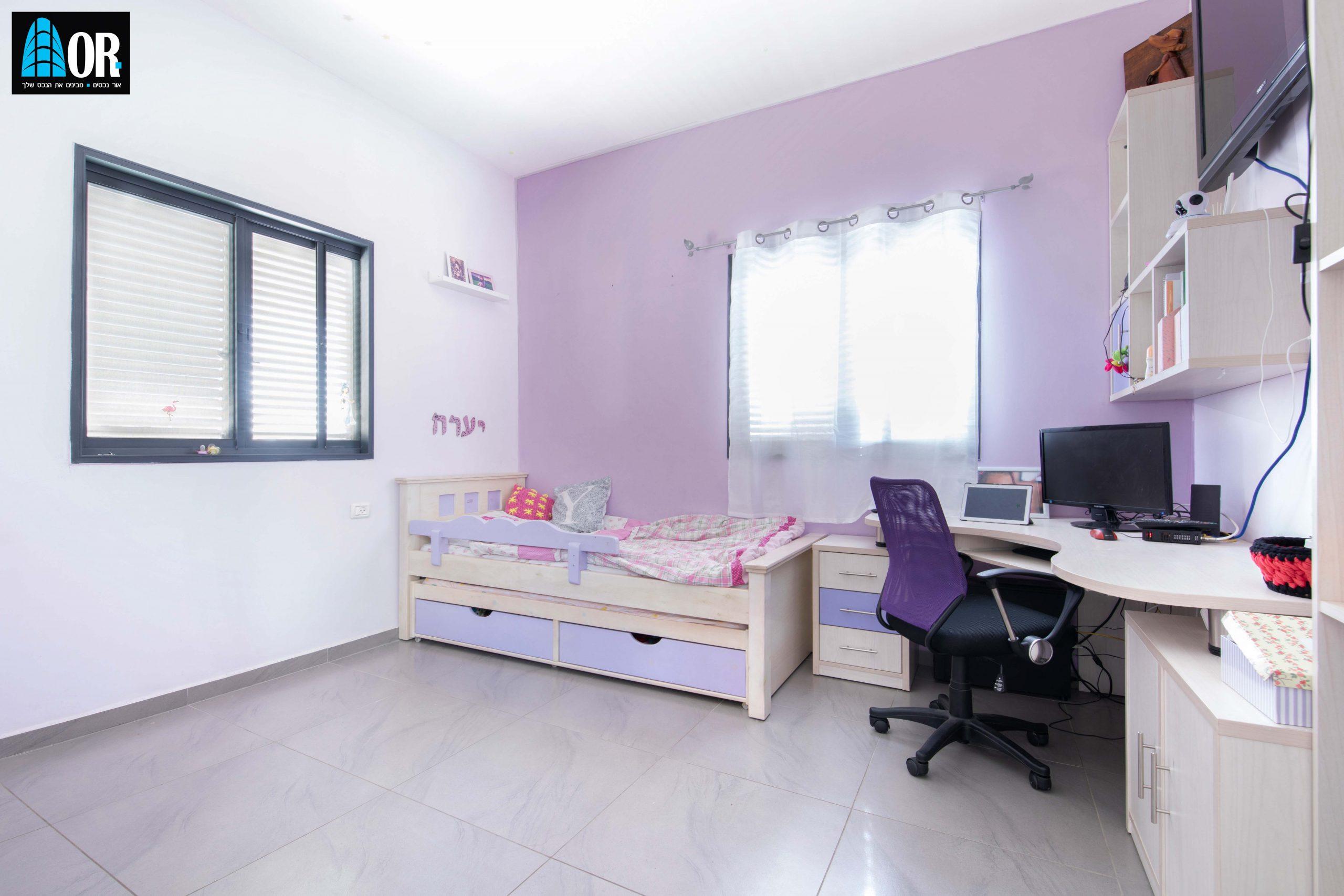 חדר ילדים דו משפחתי 7.5 חדרים, שכונה גני מנחם