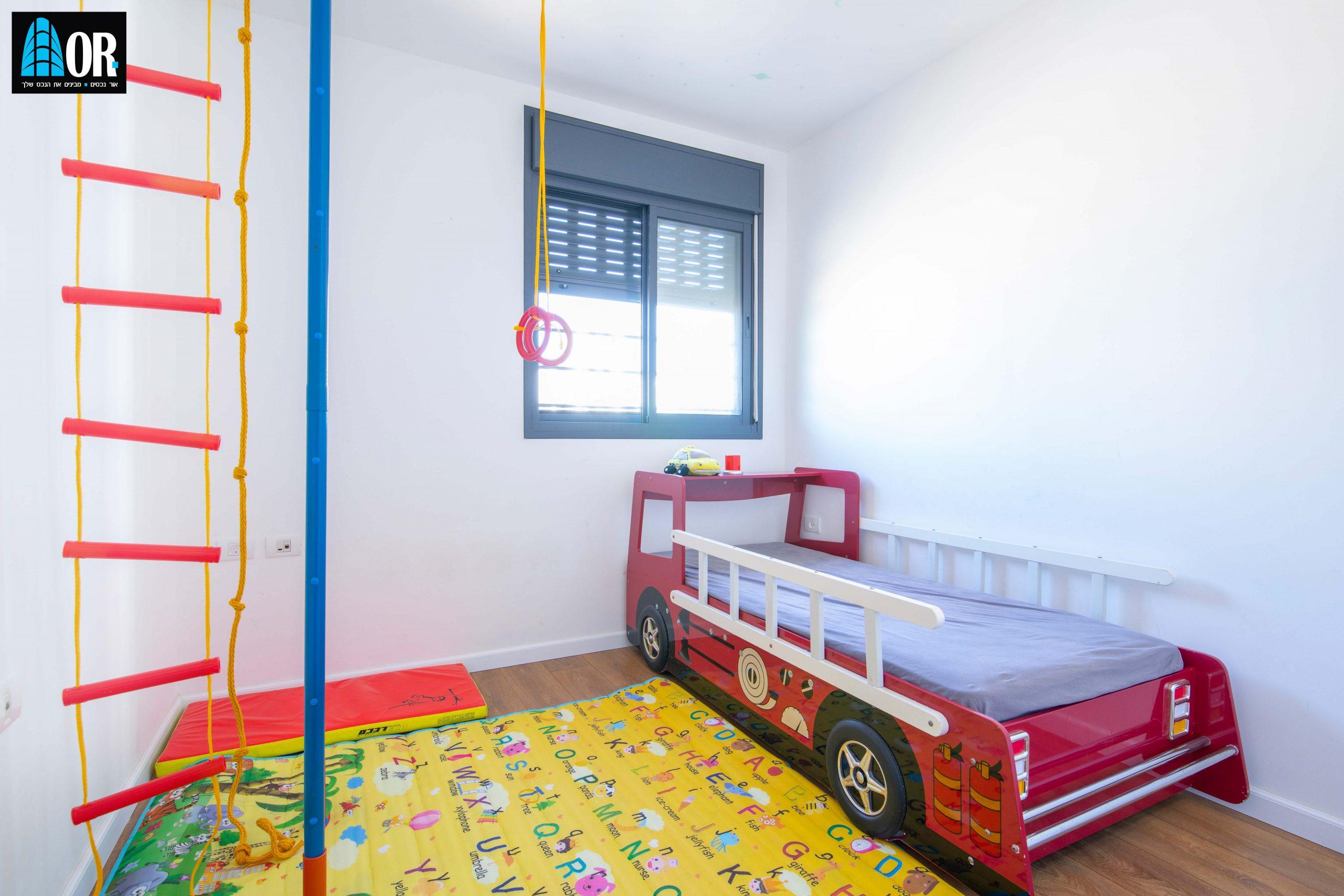 חדר ילדים דירה 5 חדרים שכונה צמרות