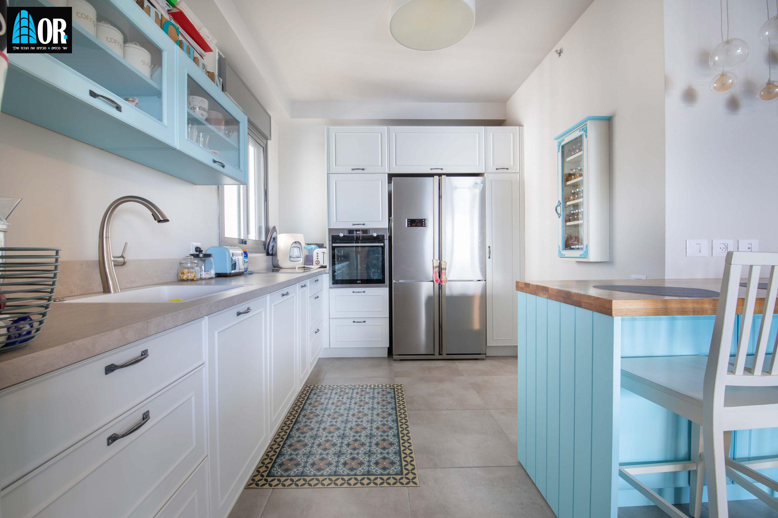 מטבח דירה 4 חדרים שכונה צמרות