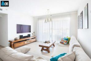 סלון דירה 4 חדרים שכונה תלמי מנשה