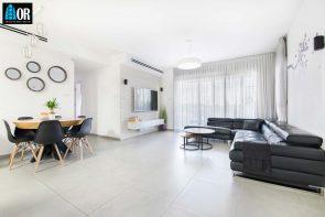 סלון דירה 4 חדרים, שכונה תלמי מנשה