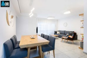 סלון דירה 4 חדרים שכונה צמרות